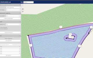 Screenshot LACOS Fahrspurplanung